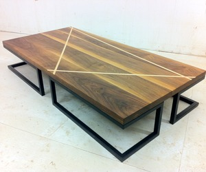 Walnut Coffee Table, Sycamore Cream