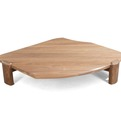 Walnut Coffee Table by Nico Yektai