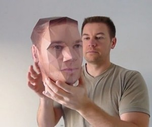 Want a 3D Paper Model of Your Head?