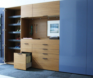 Wardrobes from henrybuilt's new Whole House line
