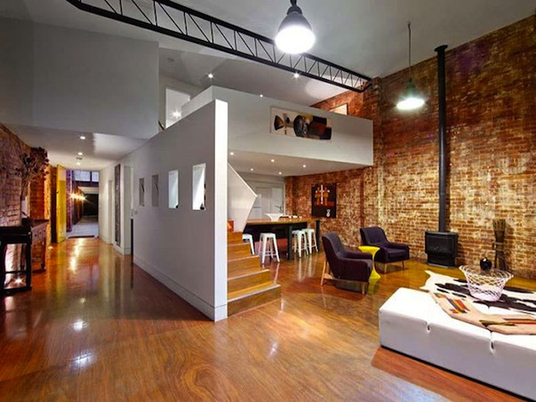 Warehouse Conversion Becomes The Two In One House