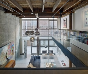 Warehouse Loft by Edmonds + Lee Architects
