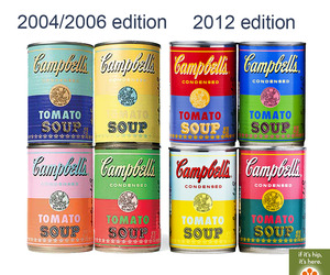 Warhol Campbell's Soup Cans Are Not New
