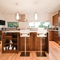 Warmth + Modernism by BUILD LLC