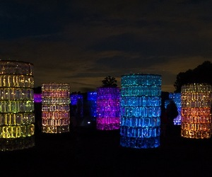 Water Towers at Longwood Gardens by Bruce Munro