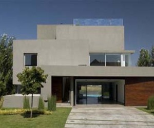 Waterfall House Design by Andres Remy Arquitectos