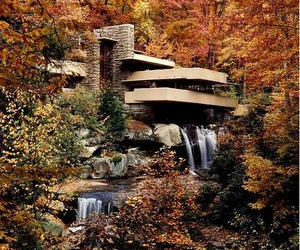 Waterfall House in Pennsylvania By Frank Lloyd Wright