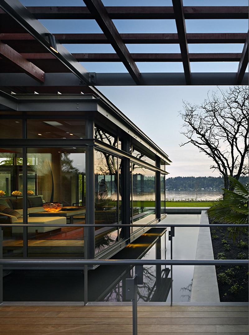 pavilion house by olson kundig architects. Black Bedroom Furniture Sets. Home Design Ideas