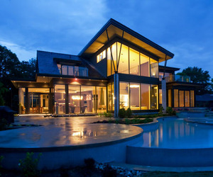 Waters Edge Home | Christopher Simmonds Architect