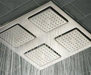 WaterTile® Square Rain Overhead Shower Panel from Kohler
