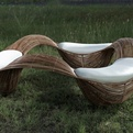 Wave Coffee Table and Sofa Furniture Design by Vito Selma