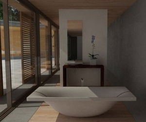 Wave, Concrete Soaking Tub from Dade Design