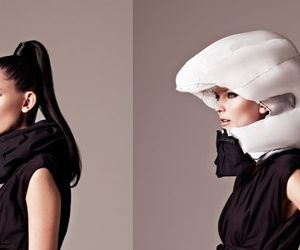 Hövding: Fashion Safety Helmet for Bike Riding