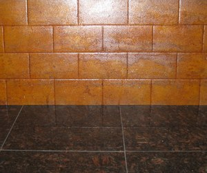 Weathered Steel Backsplash from Cascade