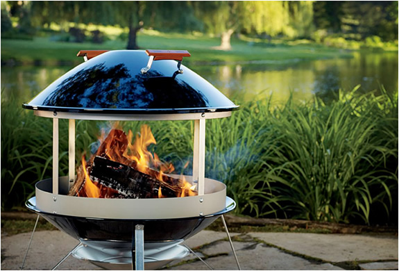 weber outdoor fireplace rh materialicious com weber 27000 flame outdoor fireplace weber outdoor fireplaces