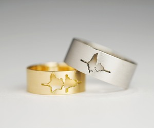 Wedding Rings Created by Sound