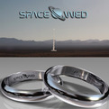 Wedding Rings made from Gold that went to Space