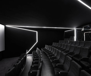 Weltspiegel Cottbus: Movie Theater by Alexander Fehre