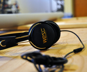 WeSC Headphones | Tambourine Golden