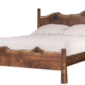 Western Walnut Live Edge Bed