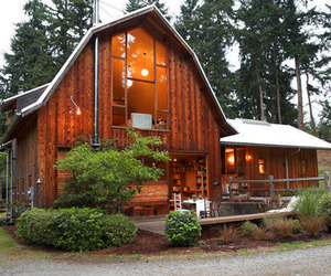 Whidbey Island Barn Conversion by Shed Architects