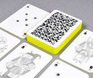 Whimsical Playing Cards by Oksal Yesilok
