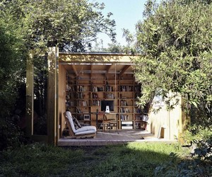Whimsical Shed Work Space by Office Sian Architecture