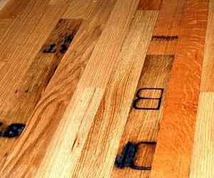 Whiskey Barrel Flooring