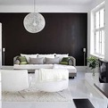 White-Black Interior by Suzanna Vento