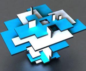 White & Blue by Nicholas Lim