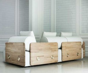 White Contemporary Sofa Design By Autoban Collection