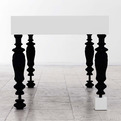 White Table by Bauer Polla