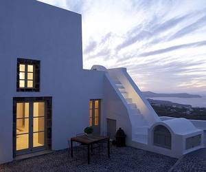 A Stunning White Villa on Santorini