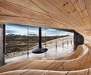 Wild Reindeer Centre Pavilion in Norway