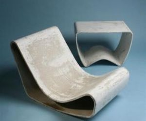 Willy Guhl Loop Chair (and table), 1954
