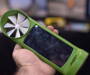 Wind and Solar Charger by Kinesis