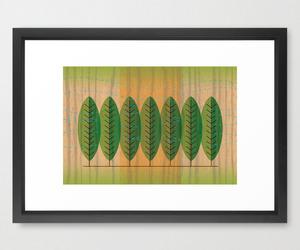 wind n trees framed print