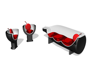 Wine Sets Lounge Chair