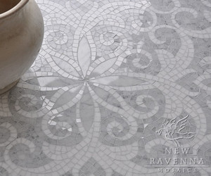 Winter White Mosaics by New Ravenna