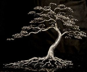 Wire Trees By Kevin Iris