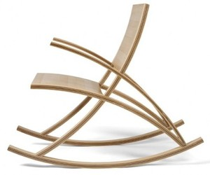 Wishbone Rocking Chair by Toby Howes