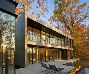 Wissioming2 Residence by Robert M. Gurney Architect