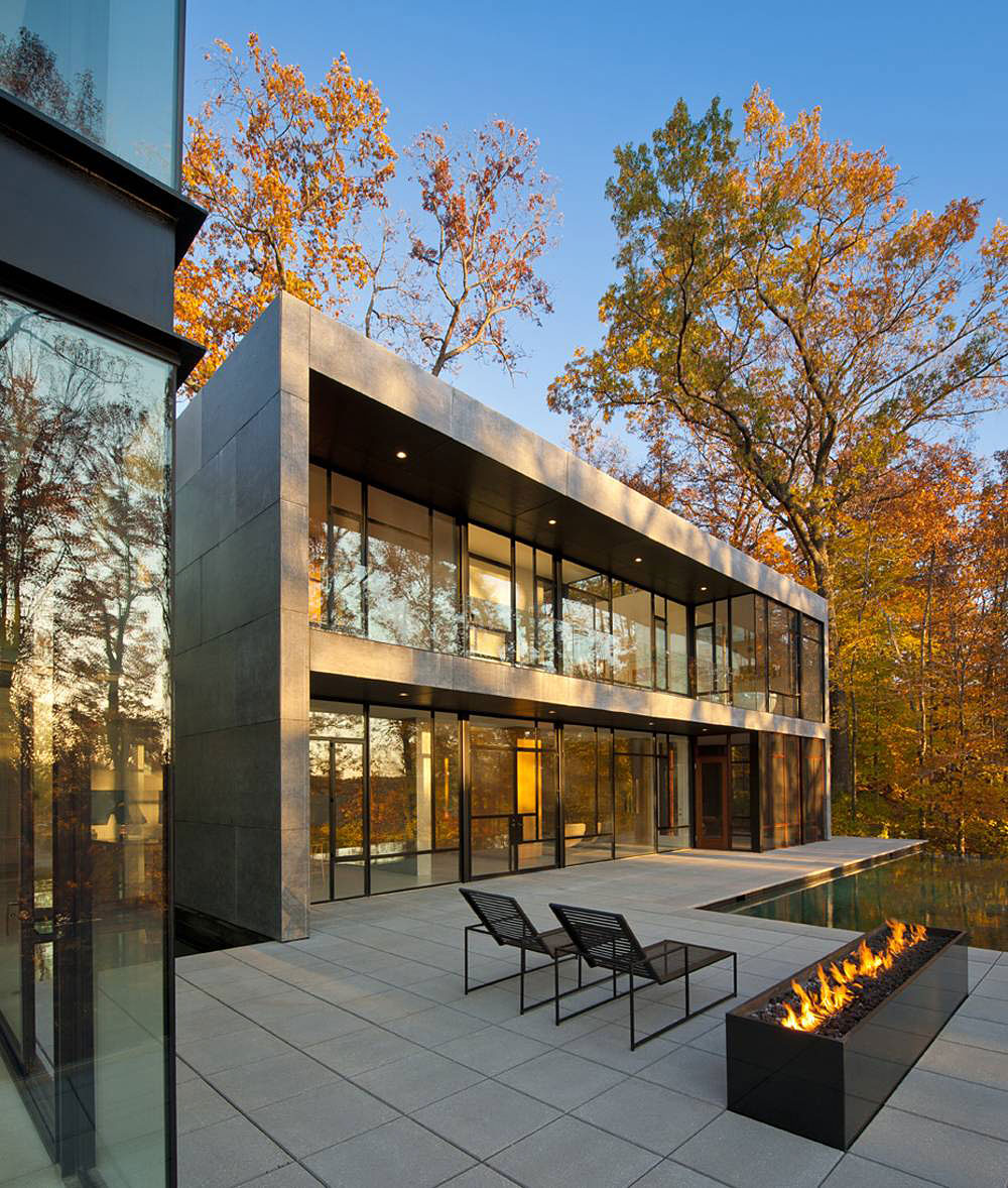 Wissioming2 residence by robert m gurney architect - Pavillon residentiel moderne gurney architecte ...