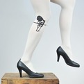 Witty Hand Printed Stockings