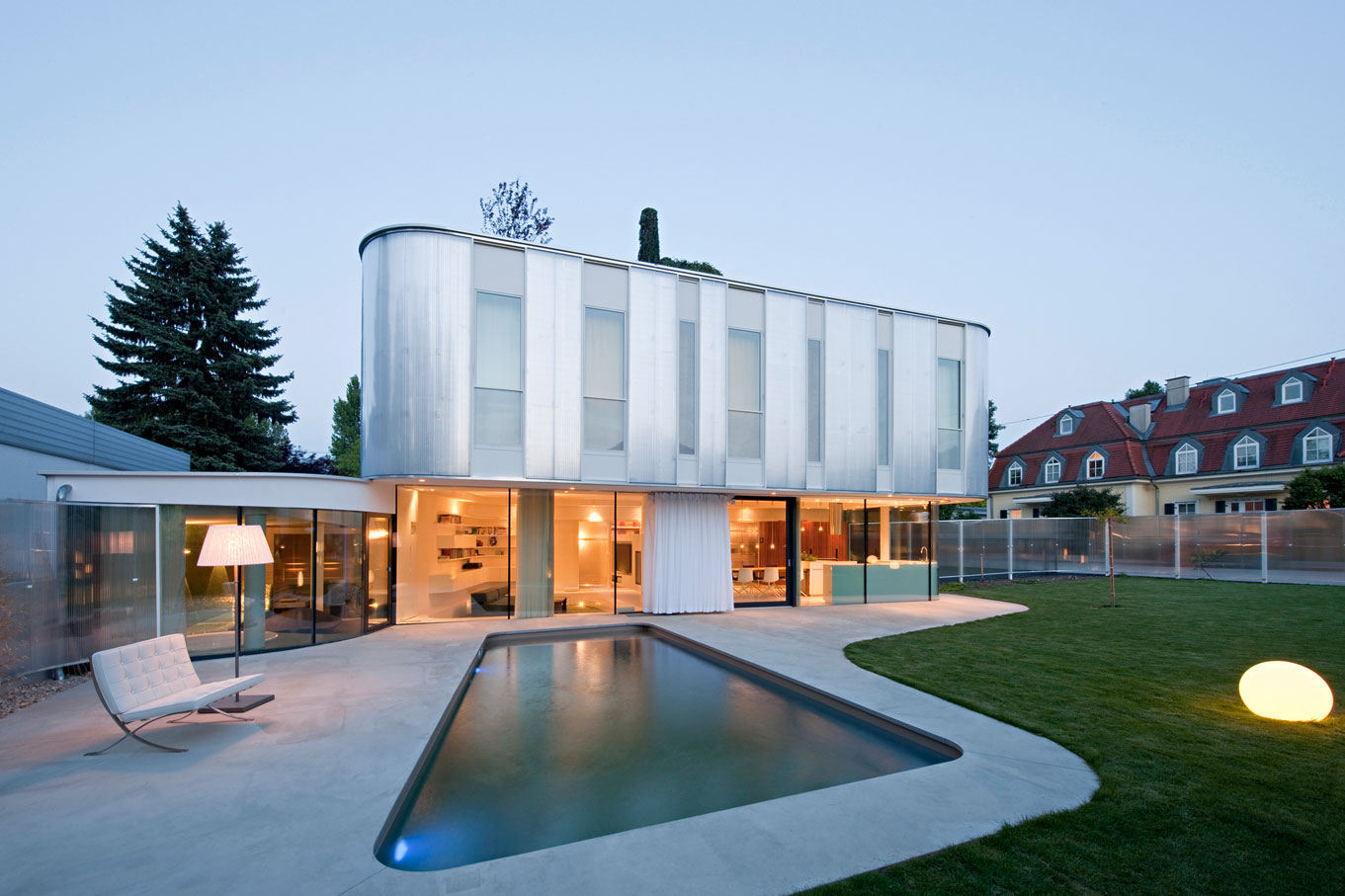 Wohnzimmer house in vienna by caramel architekten - Caramel architekten ...