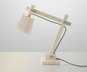 wood lamp by TAF