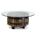 Wood Log Coffee Table