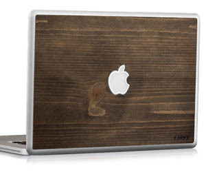 Wood MacBook Skins