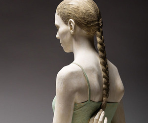 Wood Sculptures by Bruno Walpoth