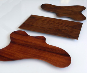 Wood Serving Trays by Confluence